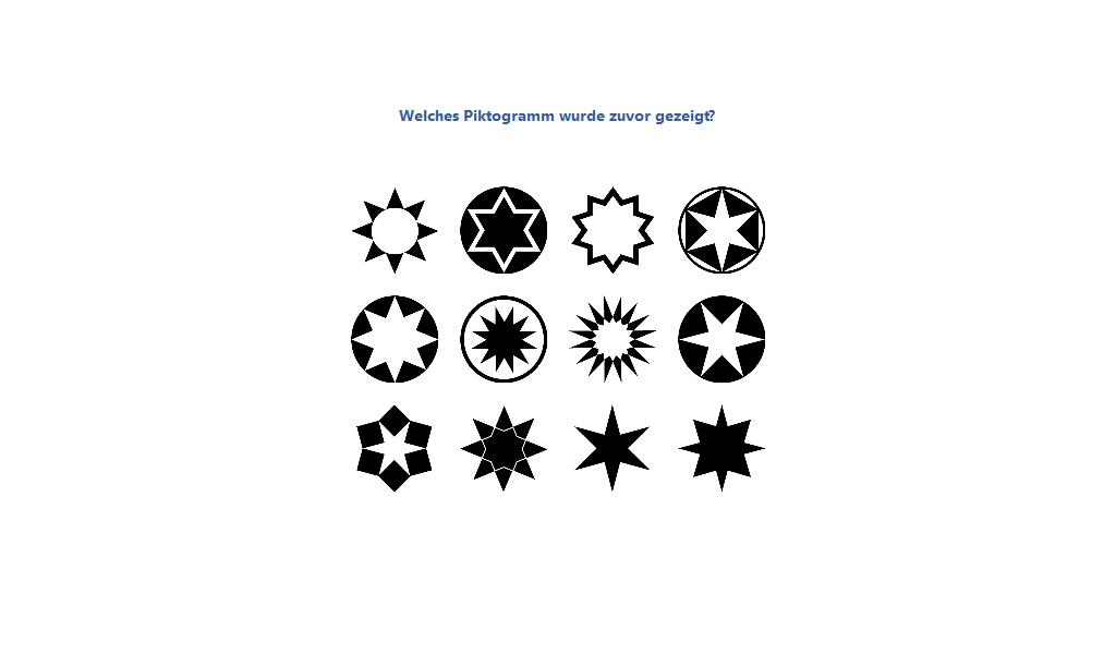 Memorize Pictograms DE