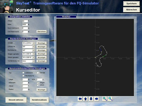 FQ-Simulator Kurseditor 470