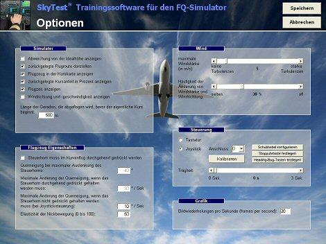 FQ-Simulator Optionen 470